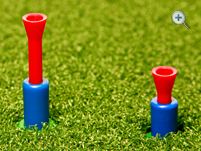 Sanha Tee adjustable golf tee for driving ranges